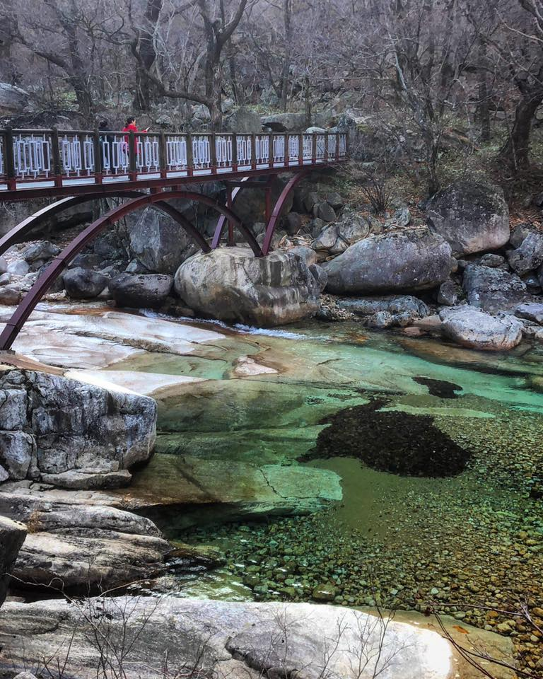 Clear waters of Mt Kungang. Photo Credit: Crooked Compass
