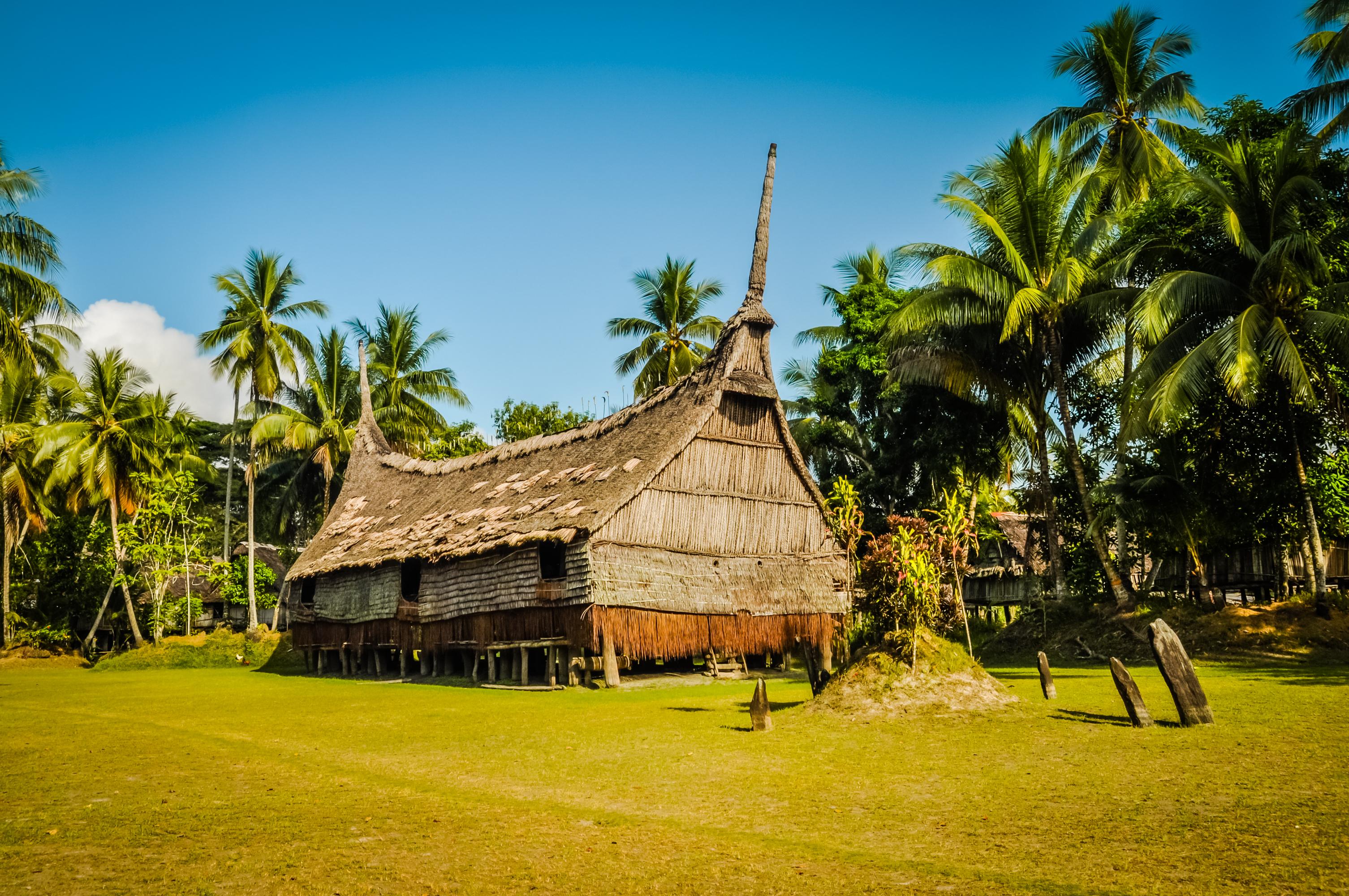 Sepik spirit houses