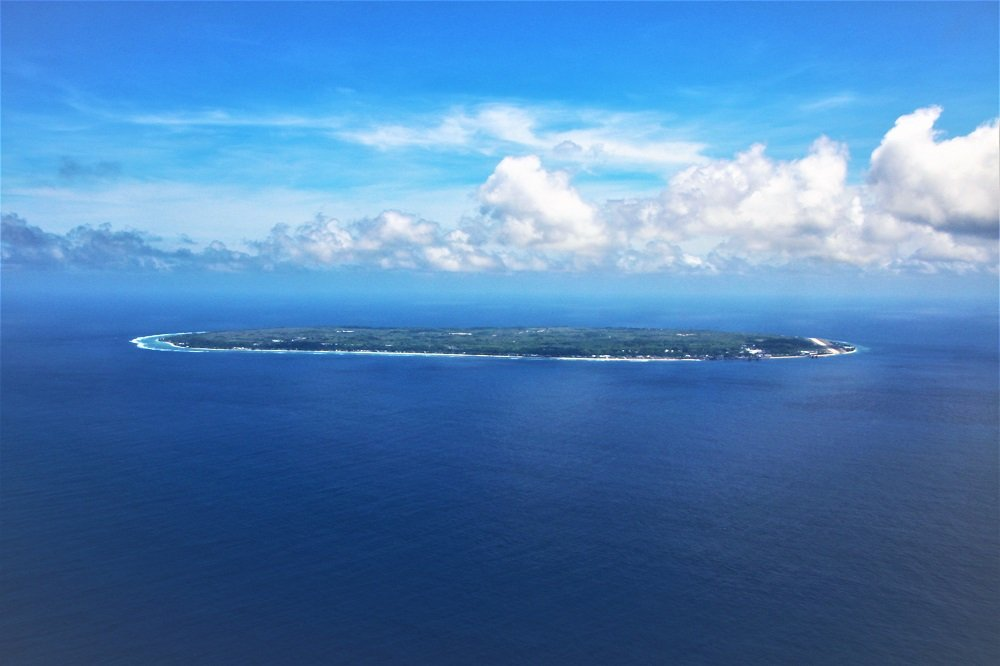 Nauru, bobbing in the Central pacific like a flat pancake - Photo Credit: Crooked Compass