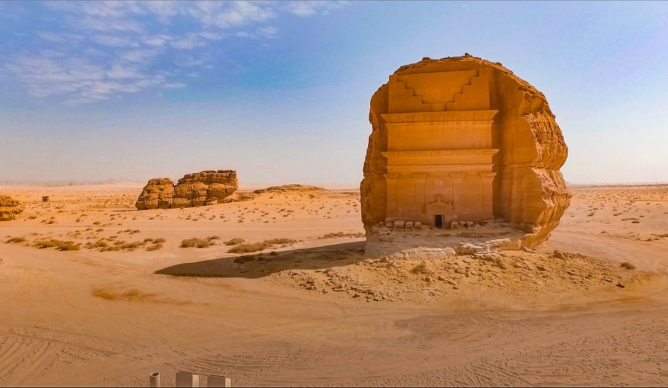 Madain Saleh Saudi Arabia Crooked Compass