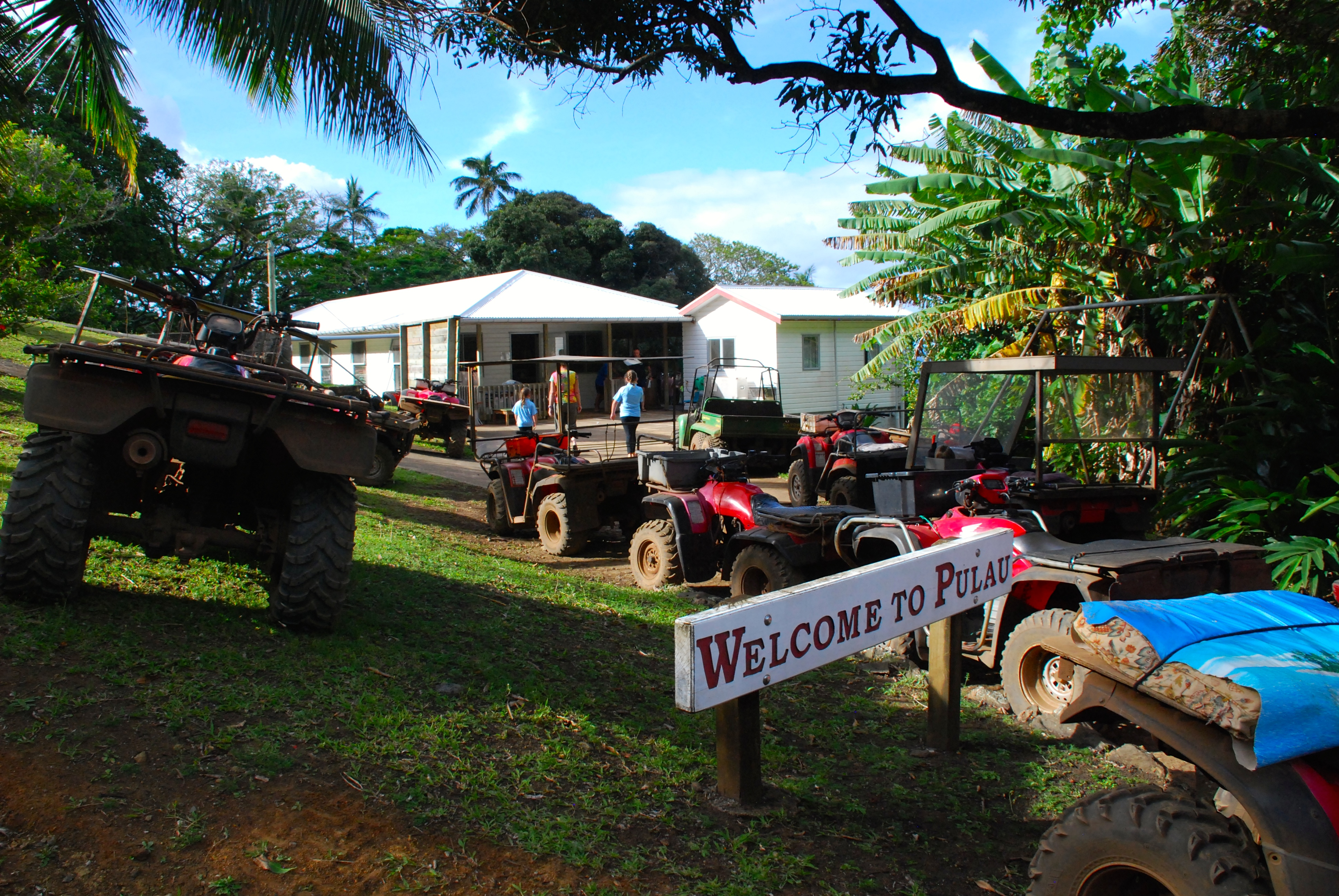 Quad bikes are the main mode of transport on Pitcairn Island - Photo Credit: Lee Mylne