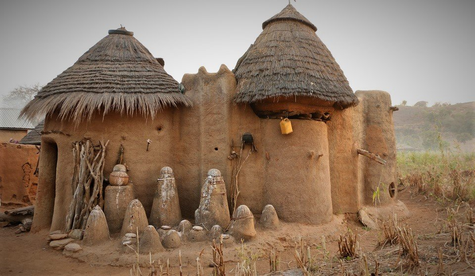 Traditional houses of Benin