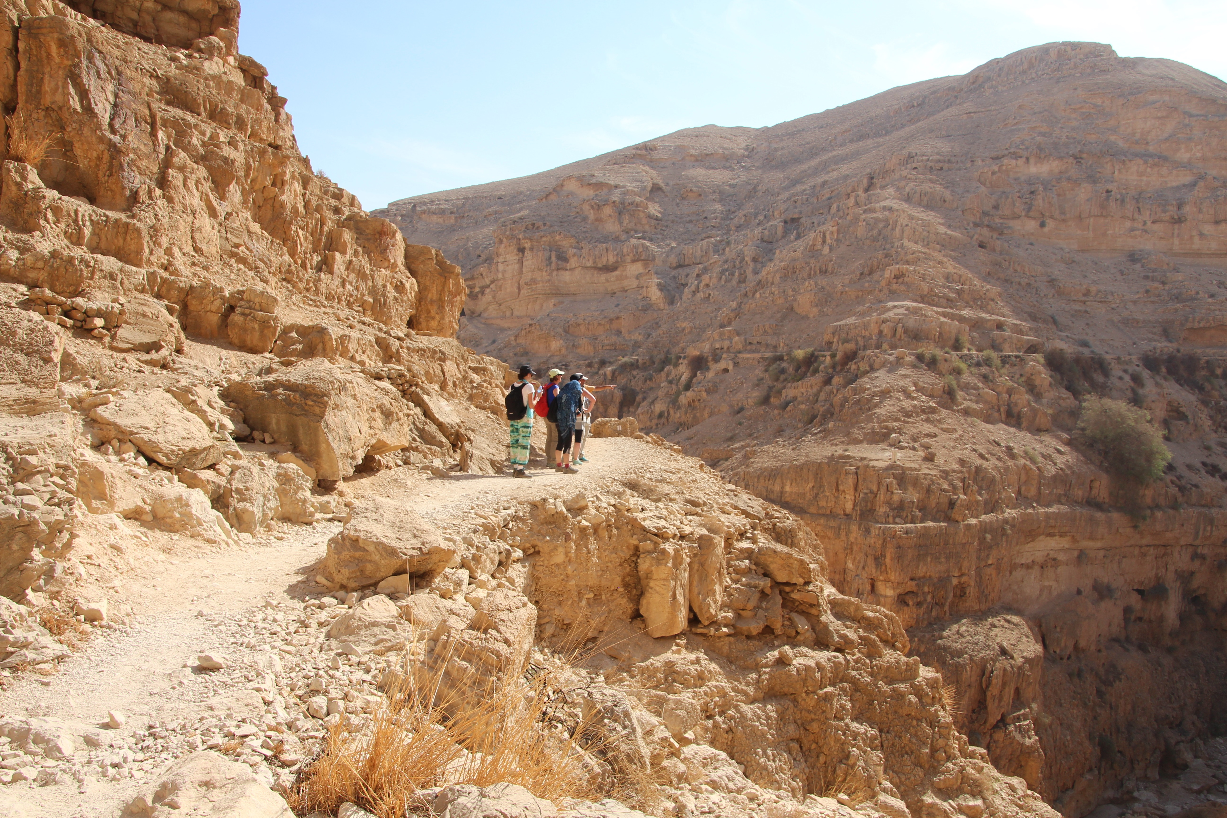 Hiking from Wadi Qelt to Jericho - Photo Credit: Crooked Compass