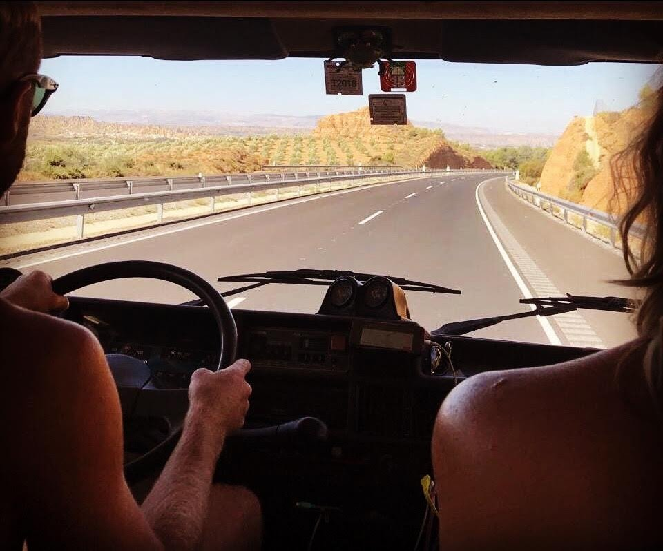 Van life - Tim & Ness cruising around Spain