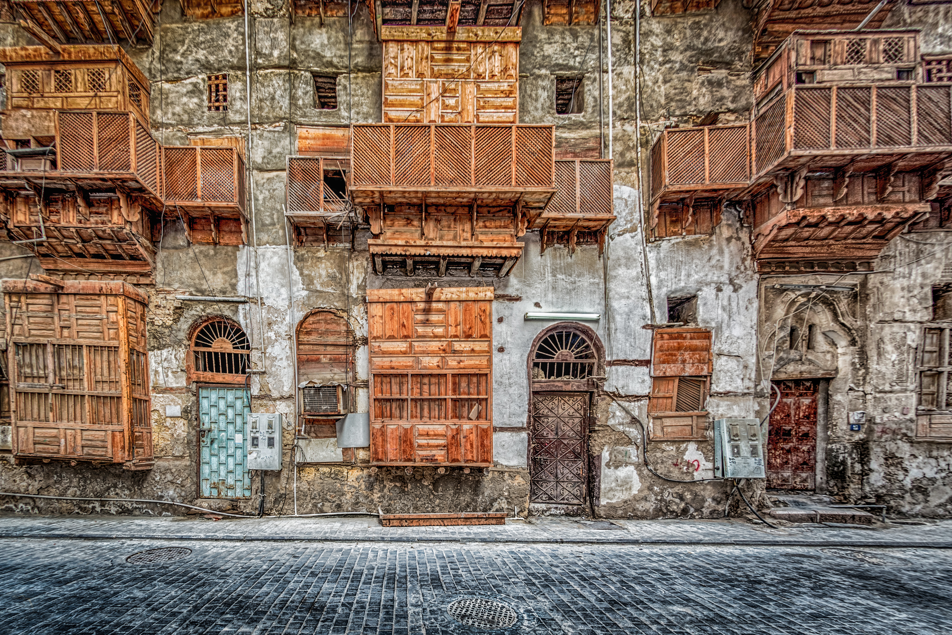 The old town of Jeddah on Saudi Arabia's Red Sea