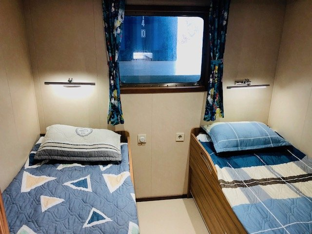 Cabins on board MV Silver Supporter Photo credit: Pitcairn Islands Tourism