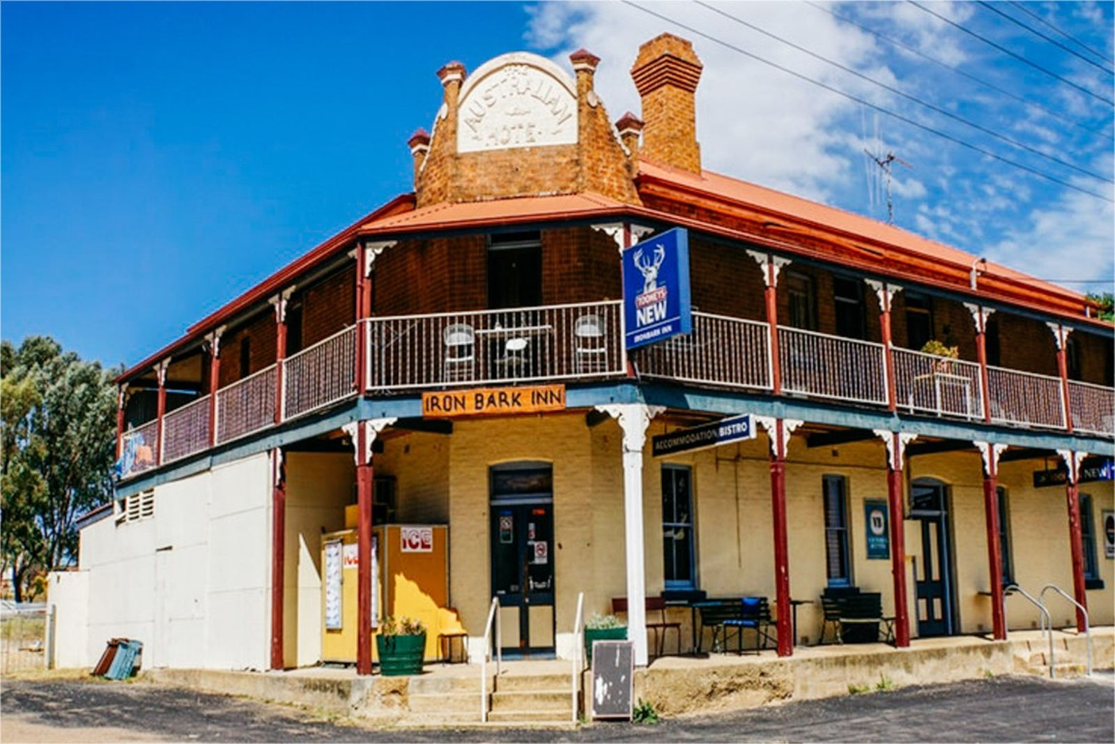 Iron Bark Pub, Central West NSW