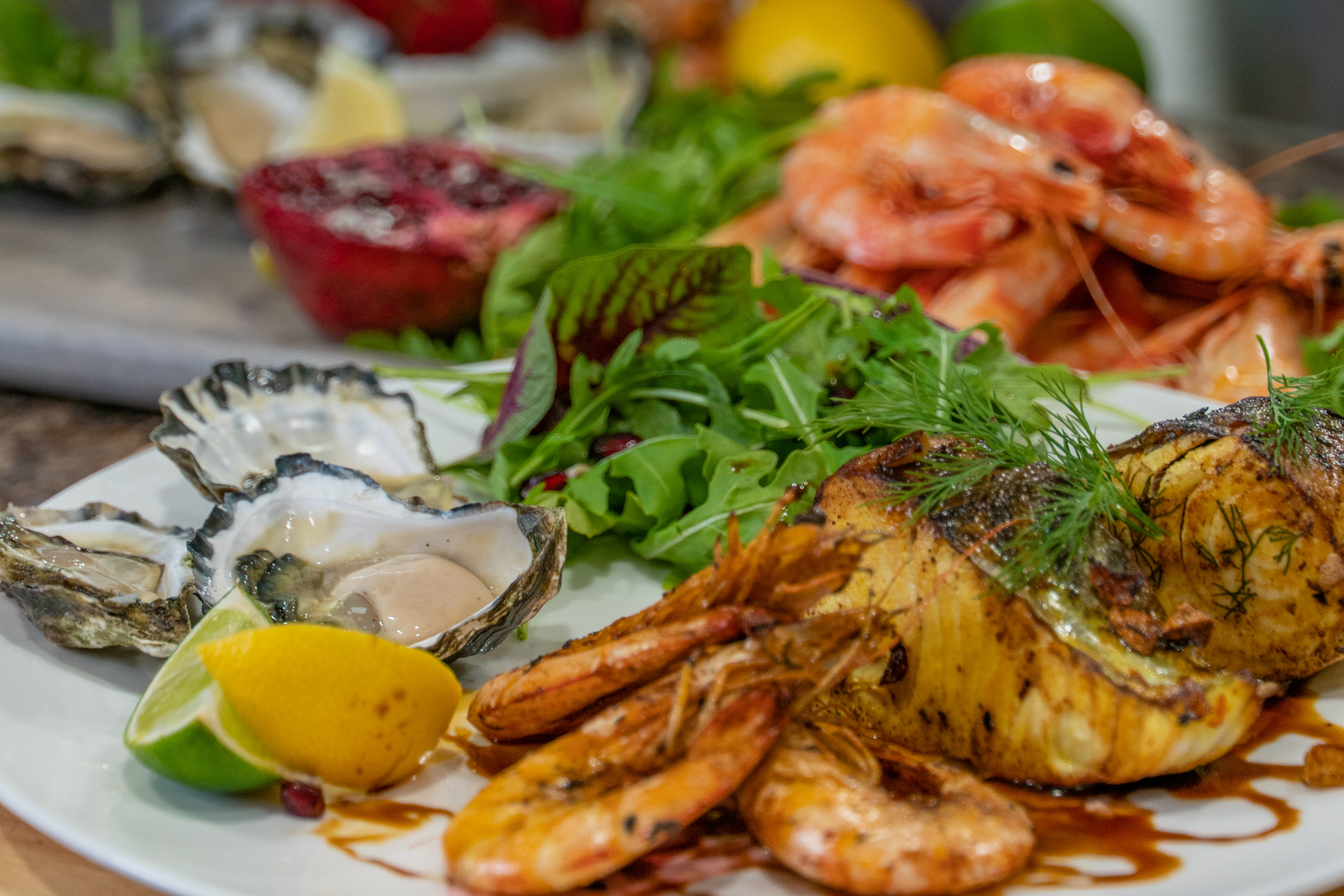 Seafood straight from the ocean to your plate