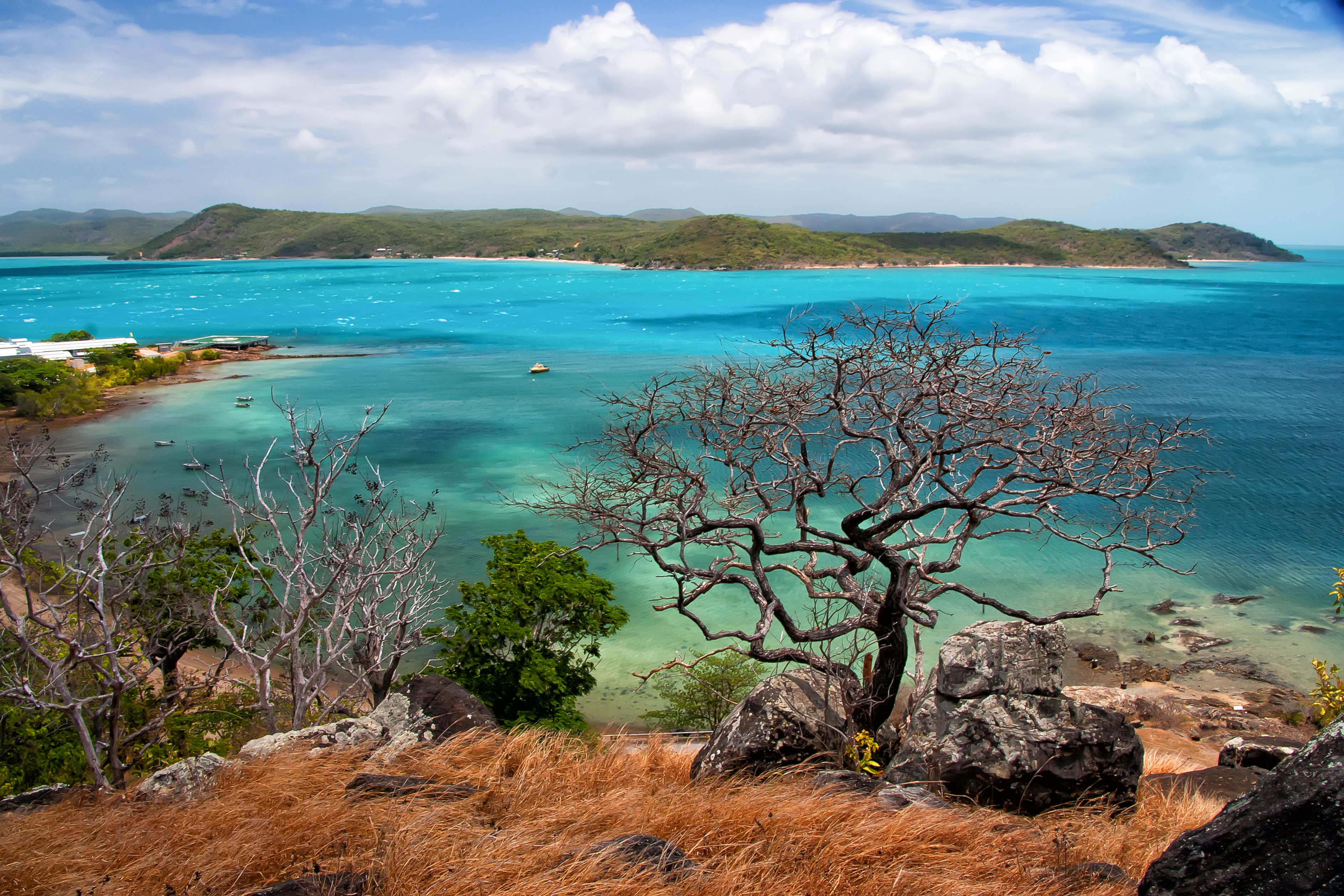 Turquoise hues of Thursday Island
