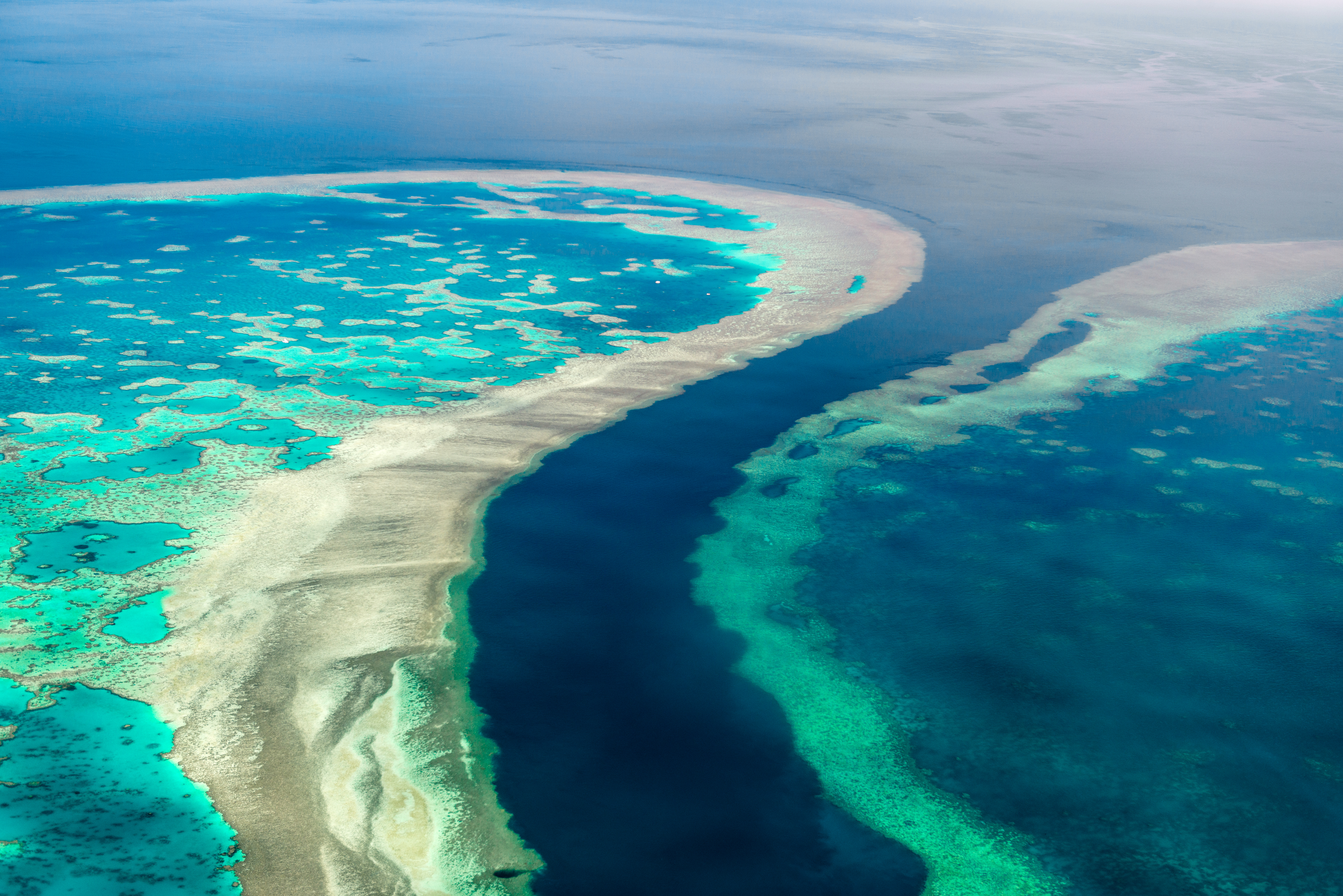 The Great Barrier Reef extends to the Torres Strait Islands