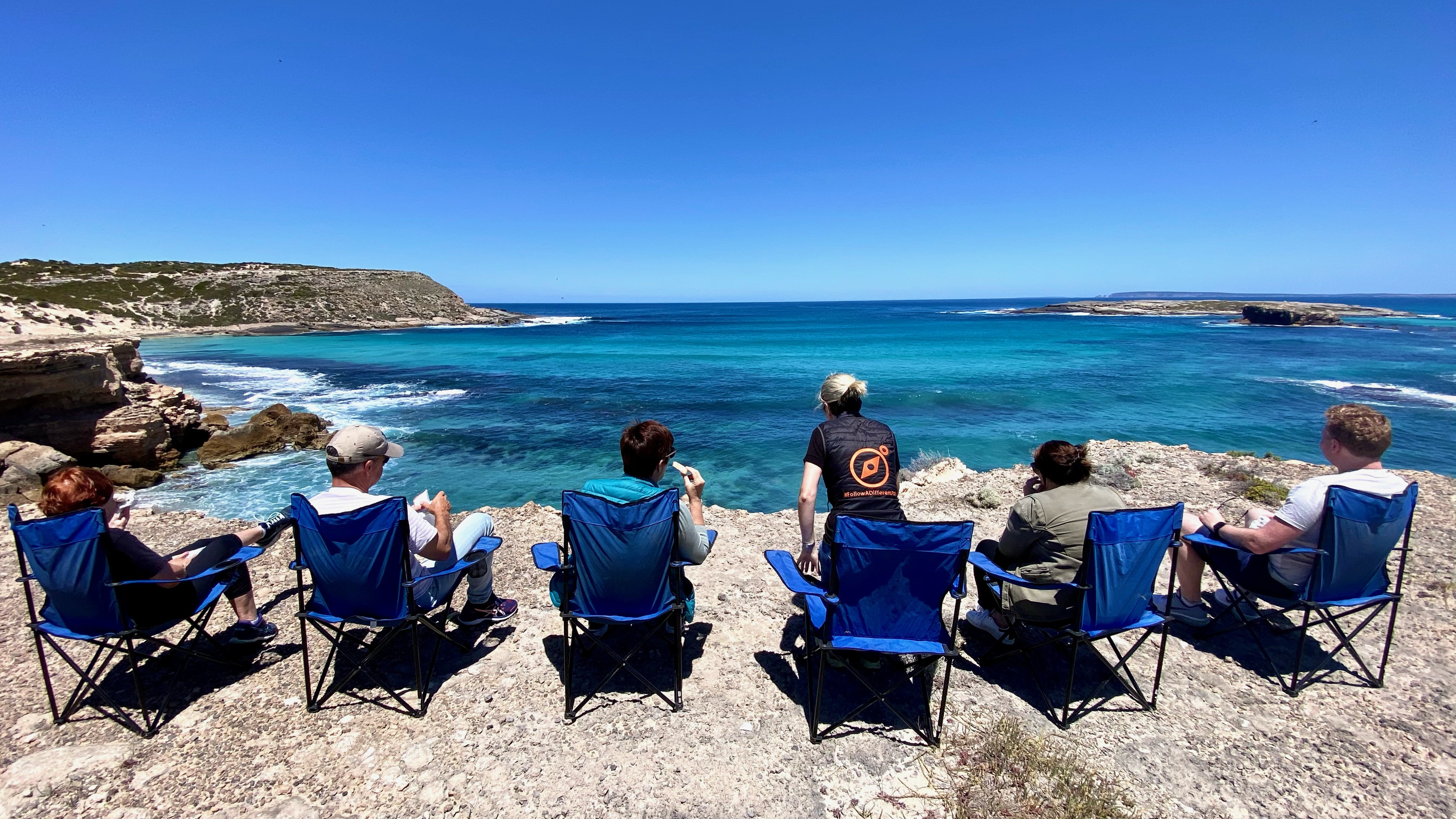 Lunch on the edge of the world, Lower Eyre Peninsula
