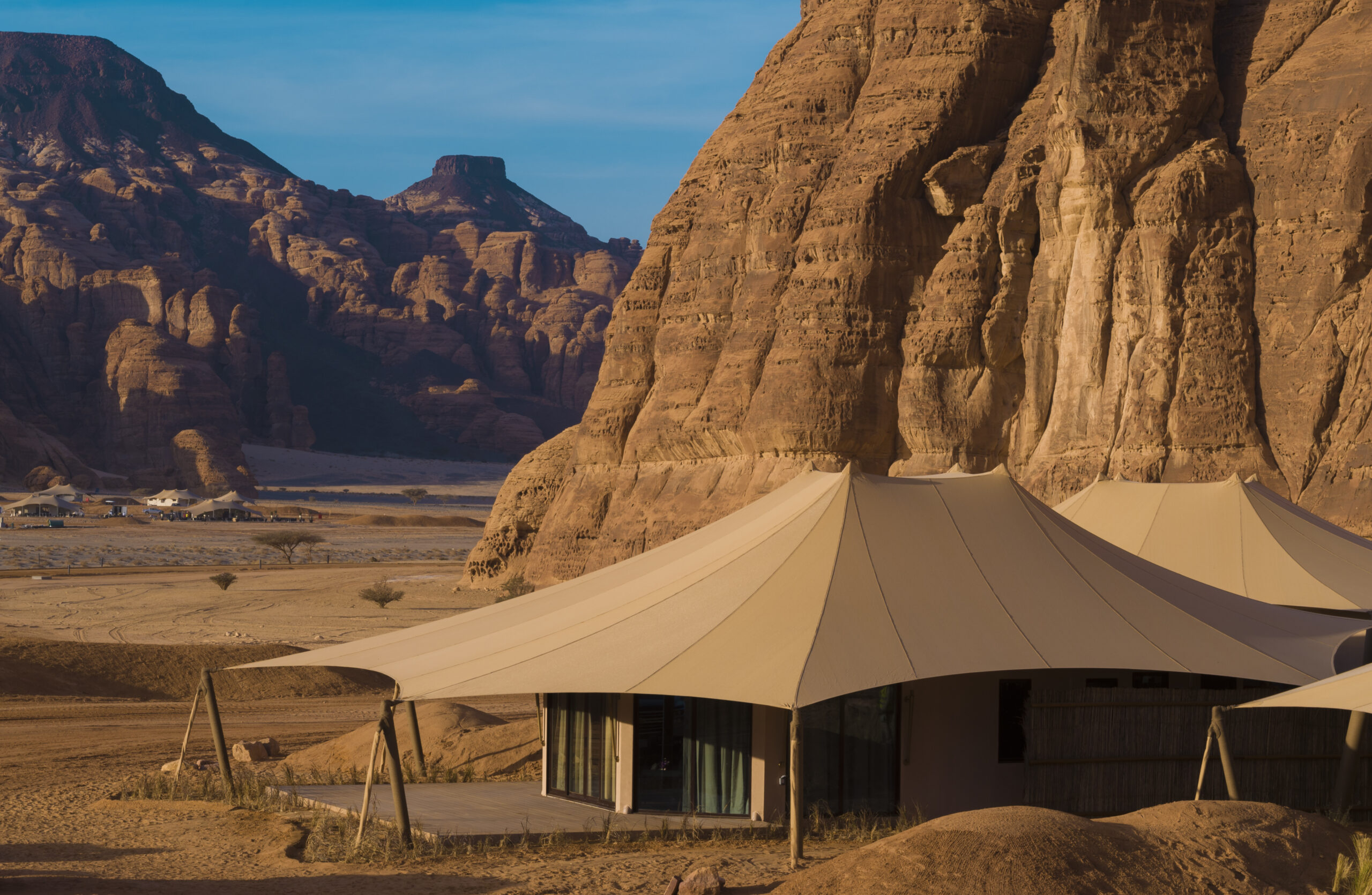 Glamping in wilds of AlUla